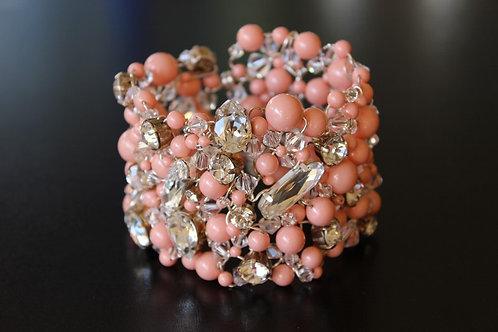 Pink Coral Cuff
