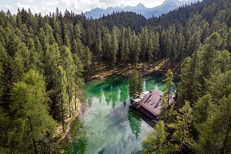 Ghedina lake, Trentino, Italy