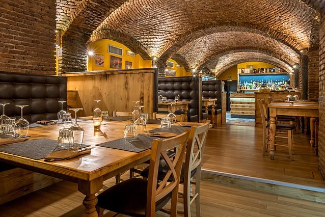 """""""Il Tavernicolo"""" restaurant, Monza, Italy"""