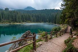 Carezza lake, Trentino, Italy