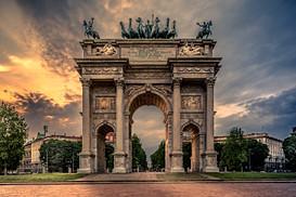 Arco della Pace, Milano, Italy