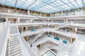 Public library, Stuttgart