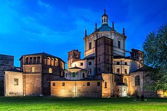 San Lorenzo Church, Milano, Italy