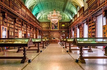 Biblioteca Braidense, Milano, Italy