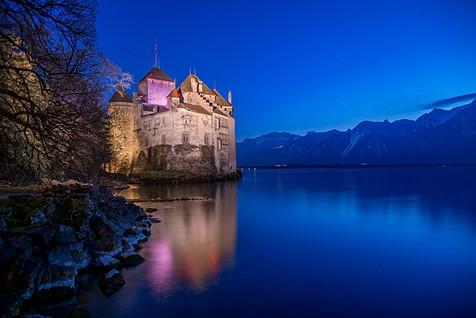 Chillon Castle, Montreaux, Swisse