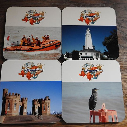 Withernsea Coasters Set of 4