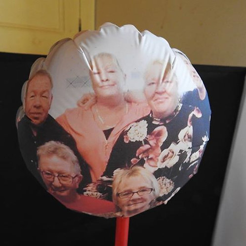 Small Personalised Table Balloon