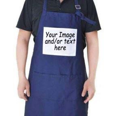Personalised Canvas Apron