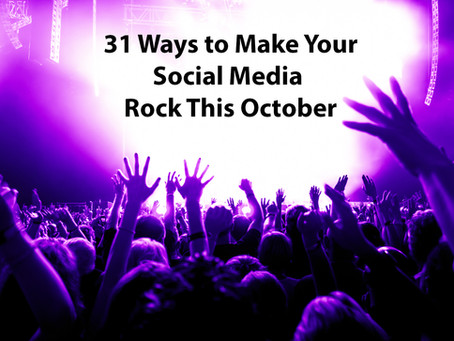 31 Ideas to make Your Social Media Rock This October
