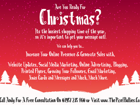 Are you ready for the Xmas shopping rush?