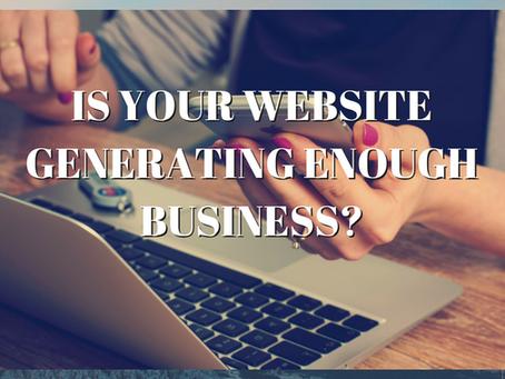 BNI 60 second presentation - Is your website delivering enough new business?