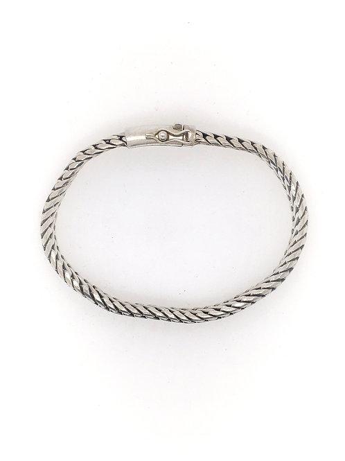 Silver Woven Bracelet