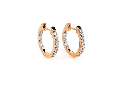 14kr Diamond Earrings