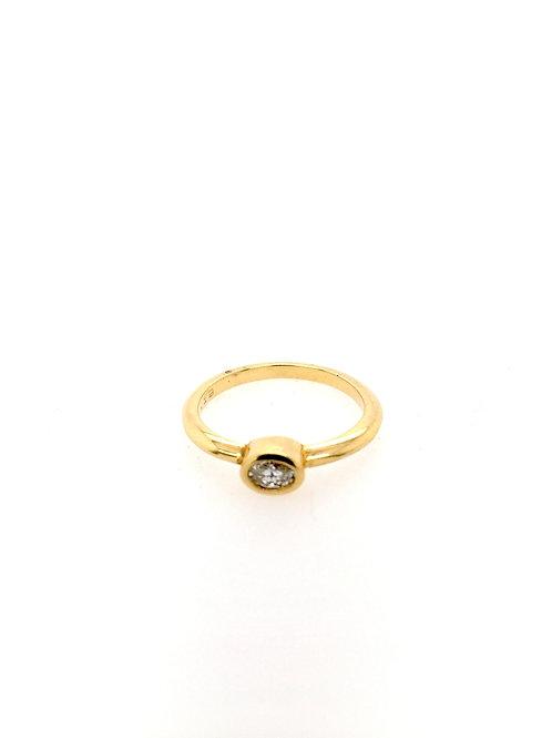 Diamond 18ky Ring