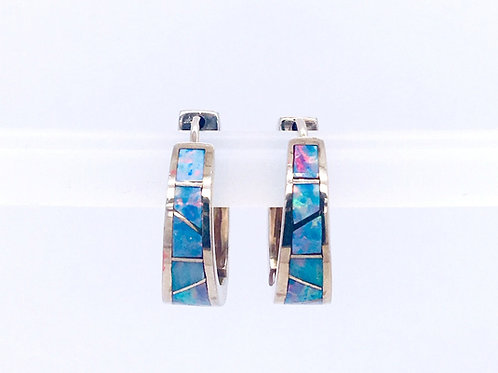 14KW and Opal Earrings