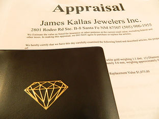 James Kallas appraisal form.
