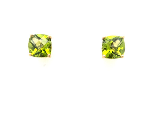 Peridot in 14ky Earrings