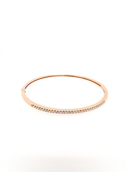 Diamond 14kr Bangle Bracelet