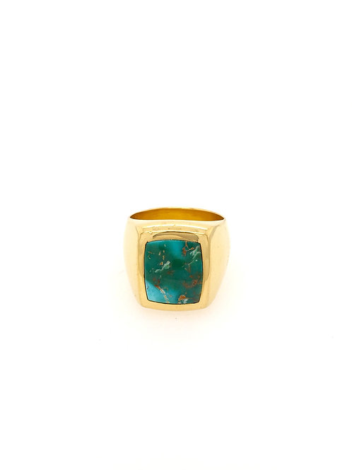 22ky Royston Turquoise Ring