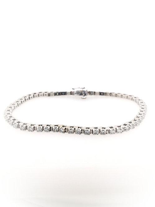 Diamond Tennis Bracelet in 14kw