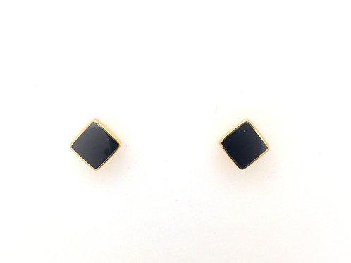 Onyx 14ky Earrings