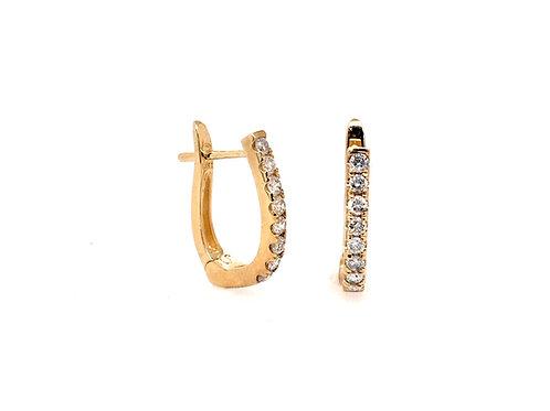 14ky Diamond Earrings