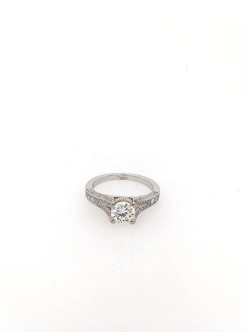 Round 14kw Engagement Ring