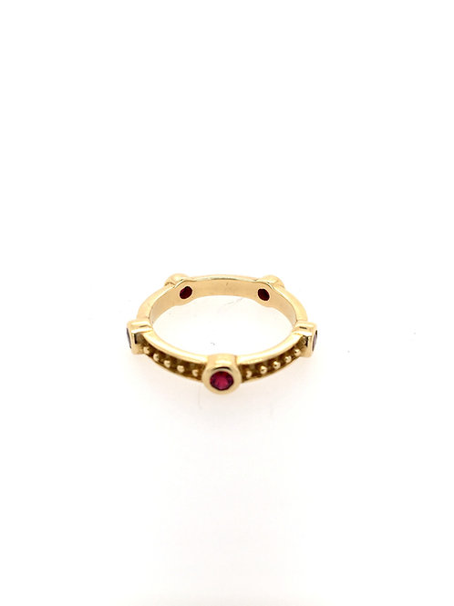 Ruby Stackable Ring
