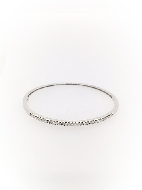 Diamond 14kw Bangle Bracelet