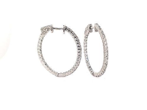 14kw Diamond Earrings