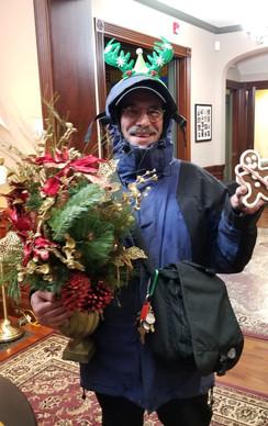 Board Member Rich Giordano looking festive!