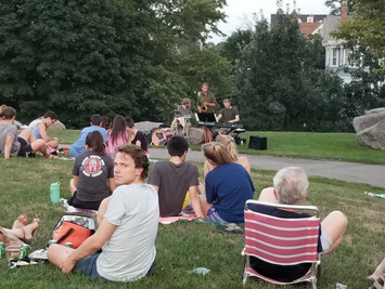 Live entertainment in the park