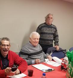 Board members Rich Giordano, David Welch, and Mitch Hilton