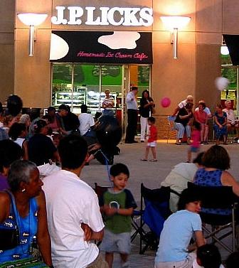 Concert Performance at Brigham Plaza