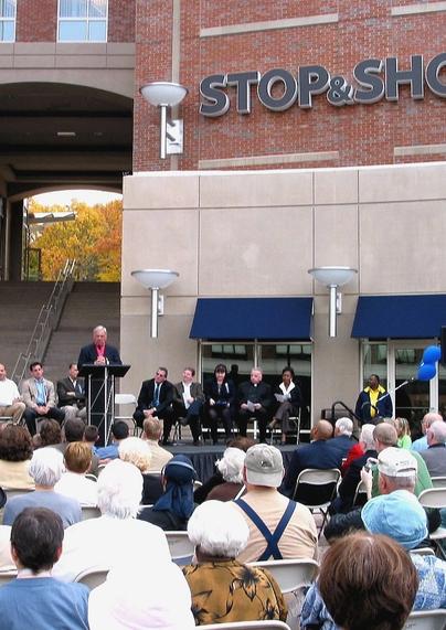 Brigham Plaza Grand Opening
