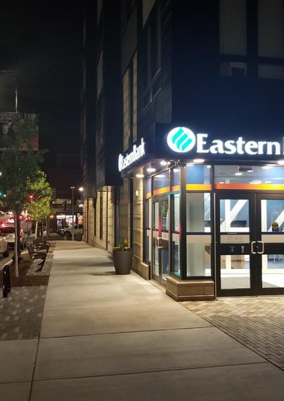 One Gurney Street at night