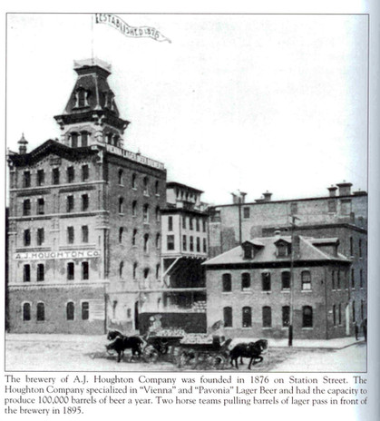 History behind a brewery in the area