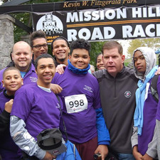 Road Race Runners and Mayor Walsh!