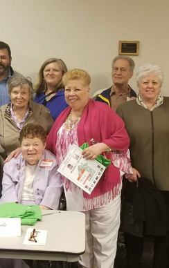 MHNHS Annual Meeting honoring Kay Gallagher and Theresa Parks