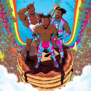 BOOM! Studios Announces WWE THE NEW DAY: POWER OF POSITIVITY Comic Book Series!