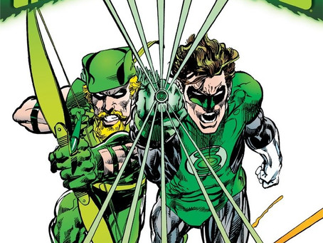 Green Arrow/Green Lantern: Hard Travelling Heroes