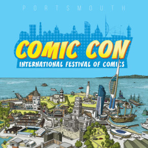 PORTSMOUTH COMIC CON – INTERNATIONAL FESTIVAL OF COMICS POSTPONED UNTIL 1st & 2nd MAY 2021