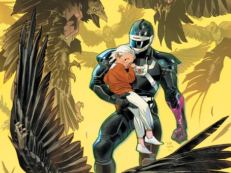 Your First Look at the Phantom Ranger in POWER RANGERS UNLIMITED: EDGE OF DARKNESS #1