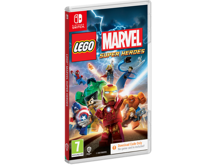 LEGO Marvel Super Heroes Launches on Nintendo Switch this Fall!