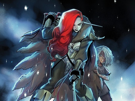 Superstar Mirka Andolfo Brings Her Signature Style to Red Sonja!