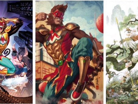 DC's Monkey Prince: New 12-Issue Comic Book Series to Debut on Lunar New Year 2022!