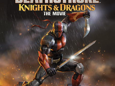 COMPETITION NOW CLOSED! WIN DEATHSTROKE: KNIGHTS & DRAGONS ON BLU-RAY™
