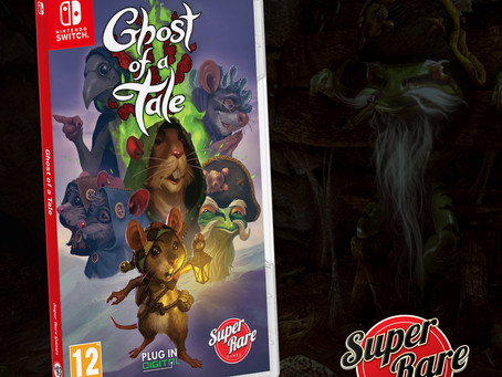 Stunning action-RPG Ghost of a Tale gets a physical Switch release next week! 🐭