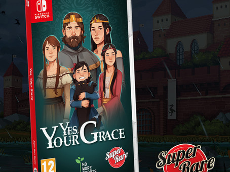 Yes, Your Grace gets a physical Switch release!