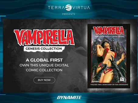 Vampirella & Christopher Priest Come to NFTs With Comics, Graphic Novels, Statues & More!